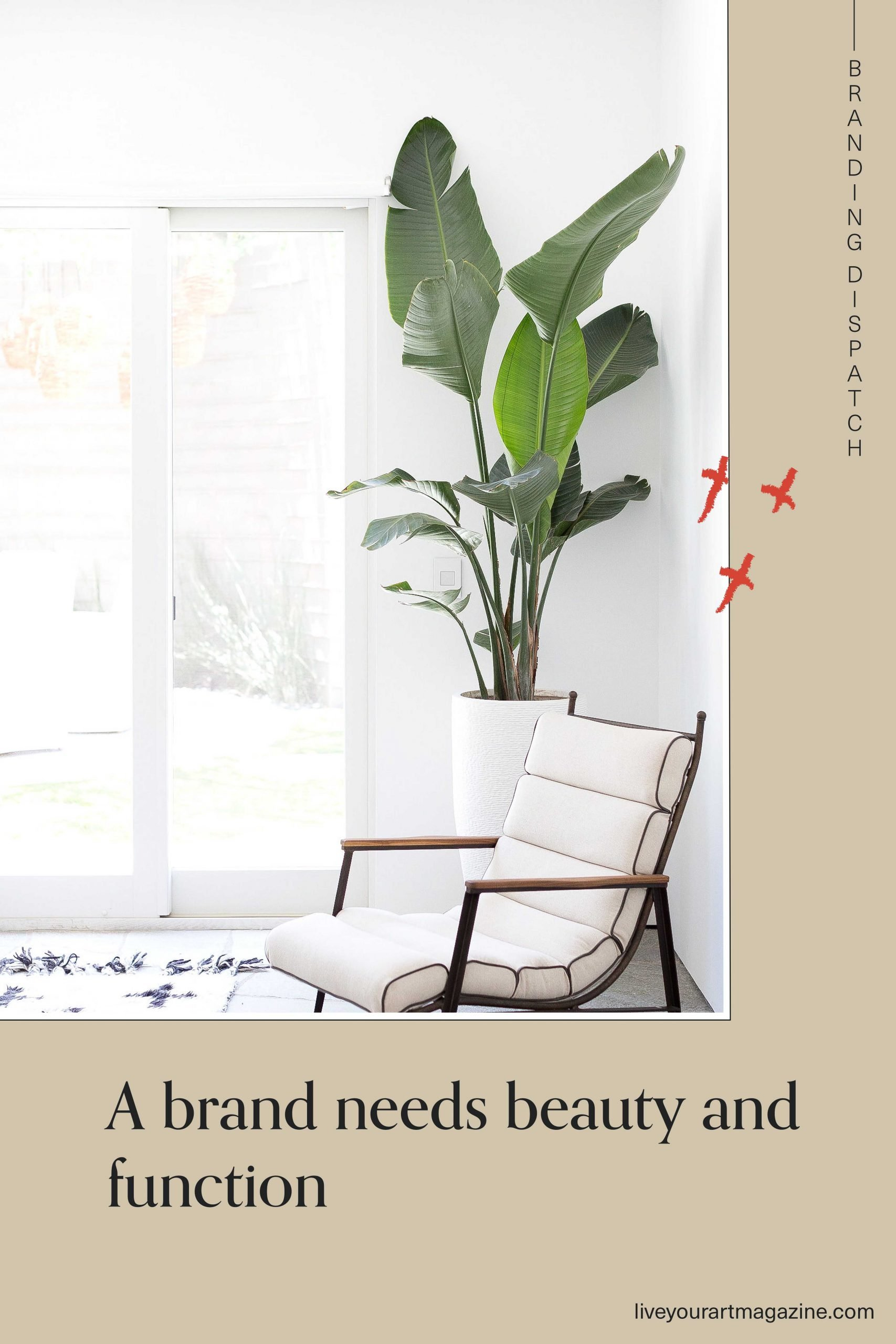 A brand needs beauty and function