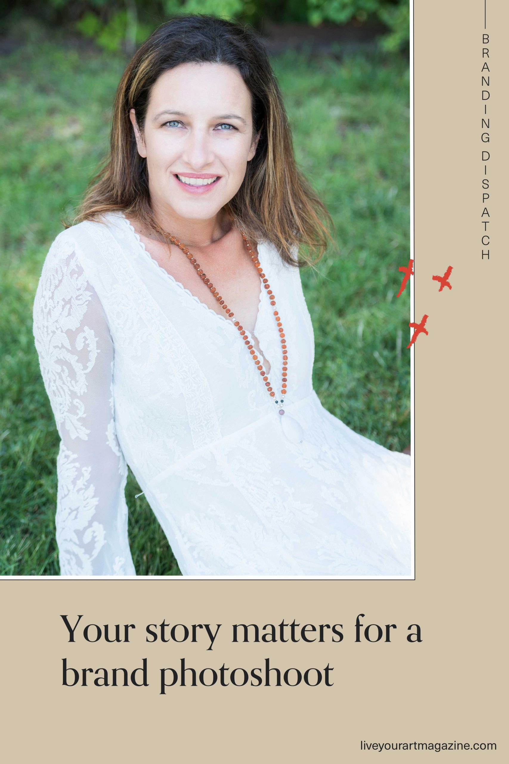 Your story matters for a brand photoshoot