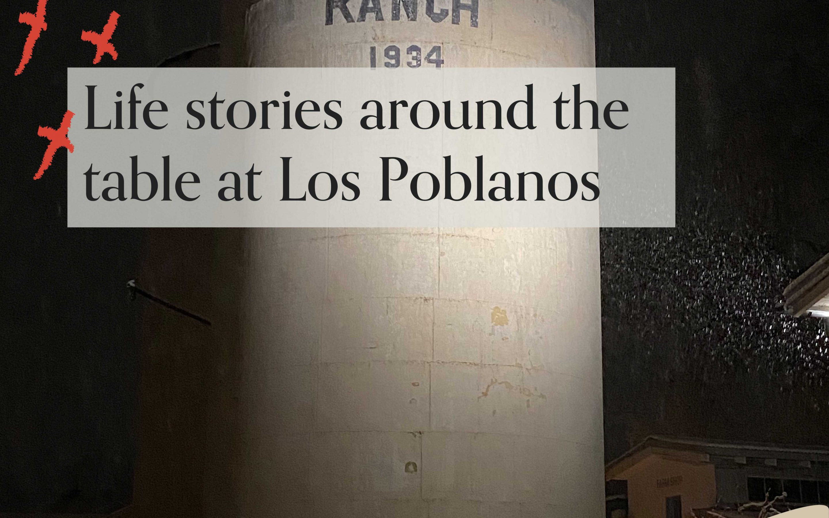 Life stories around the table at Los Poblanos