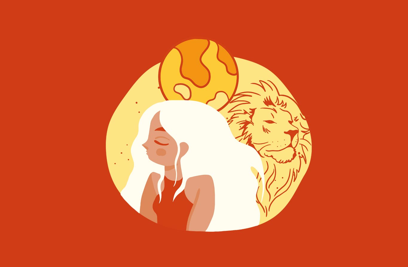 A Leo roars self-empowering with a touch of fun